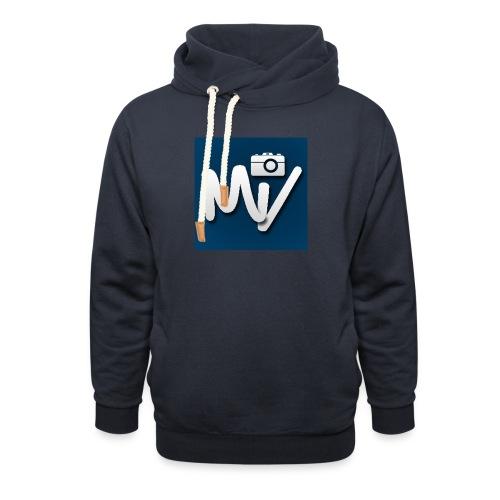 Maxvlogs T-shirt - Unisex sjaalkraag hoodie
