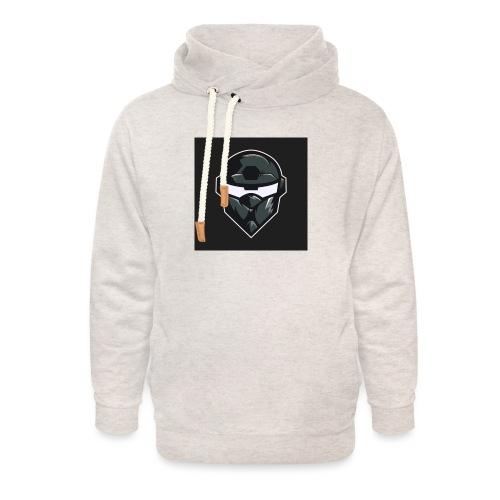LogoMain2 - Unisex hoodie med sjalskrave