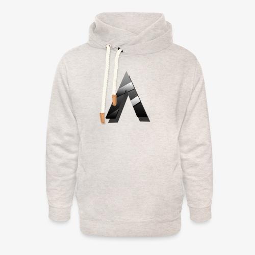 A for Arctic - Sweat à capuche cache-cou unisexe