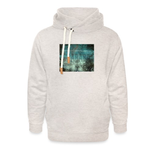 Shababa Tshirt - Unisex hoodie med sjalskrave
