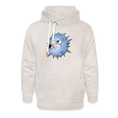 BLOWFISH! - Unisex hoodie med sjalskrave