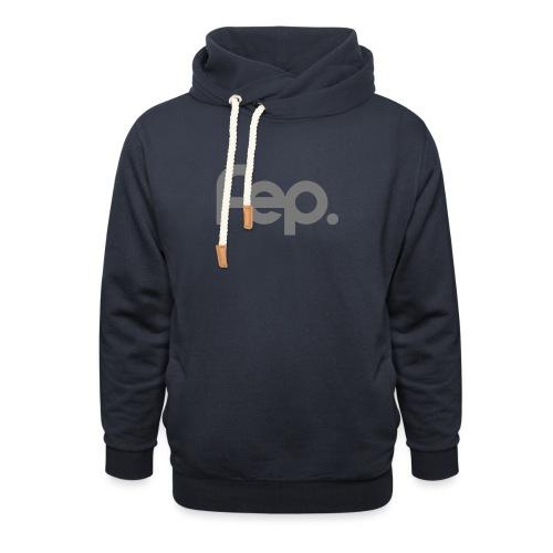 FEP logo gray - Unisex Shawl Collar Hoodie
