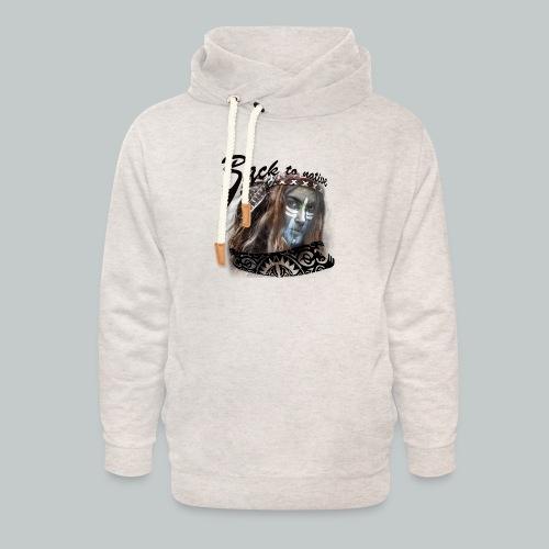 progress2 - Unisex sjaalkraag hoodie