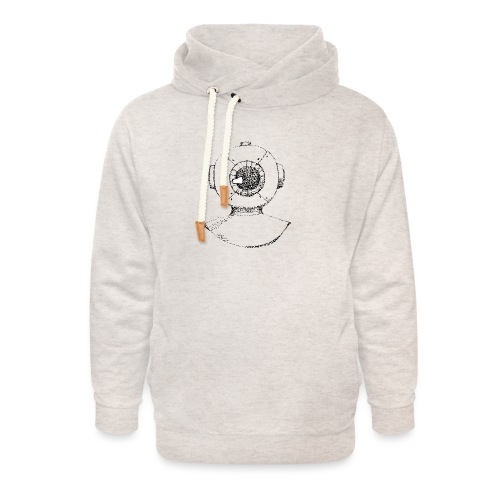 nautic eye - Unisex sjaalkraag hoodie