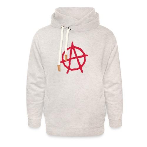 Anarchy Symbol - Unisex Shawl Collar Hoodie
