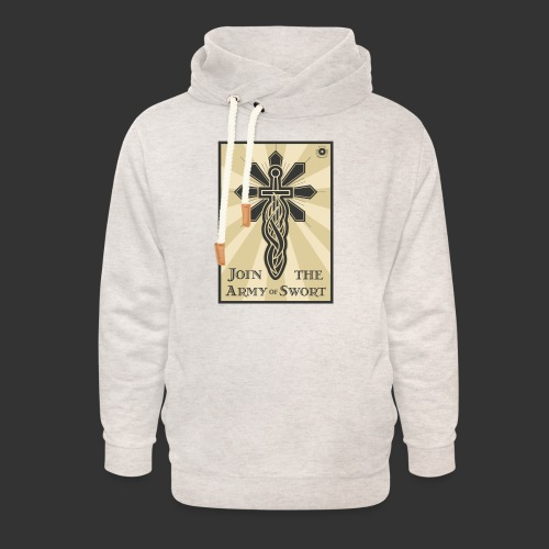 Join the army jpg - Unisex Shawl Collar Hoodie