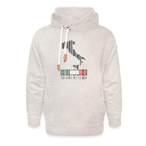 Made in Italy - Felpa con colletto alto unisex