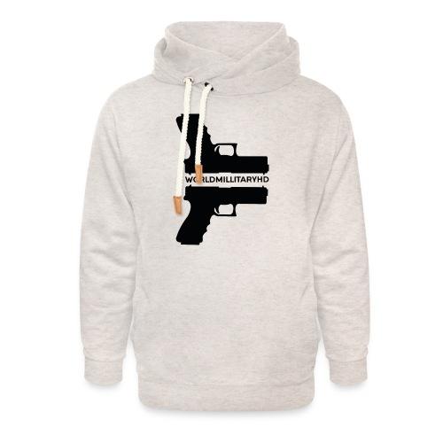 WorldMilitaryHD Glock design (black) - Unisex sjaalkraag hoodie