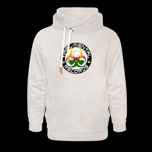 Viral Mental Records Logo - Unisex Shawl Collar Hoodie
