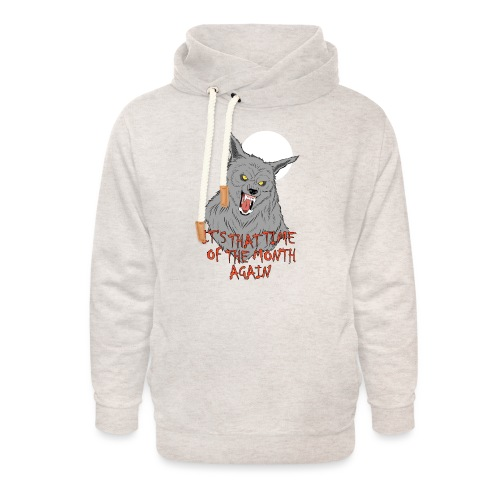 That Time of the Month - Unisex Shawl Collar Hoodie