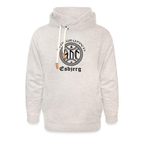 Asatro Blòtgruppen Sol Esbjerg - Unisex hoodie med sjalskrave