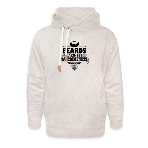 beards_laziness_awesomeness 10x - Unisex huivikaulus huppari