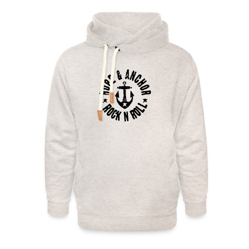 Hope & Anchor - Rock´n´Roll - Unisex Schalkragen Hoodie