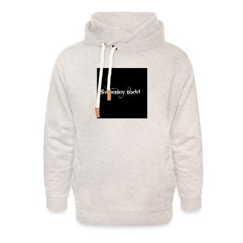 Sweney todd - Unisex hoodie med sjalskrave