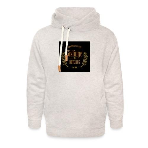 Sort logo 2017 - Unisex hoodie med sjalskrave