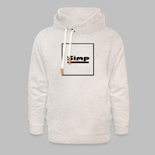 Standard Simp Logo Design - Unisex sjaalkraag hoodie