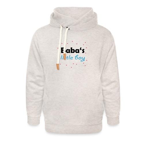Baba's litte boy Babybody - Unisex Schalkragen Hoodie