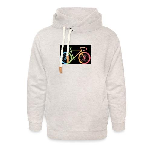 Coureur - Unisex sjaalkraag hoodie