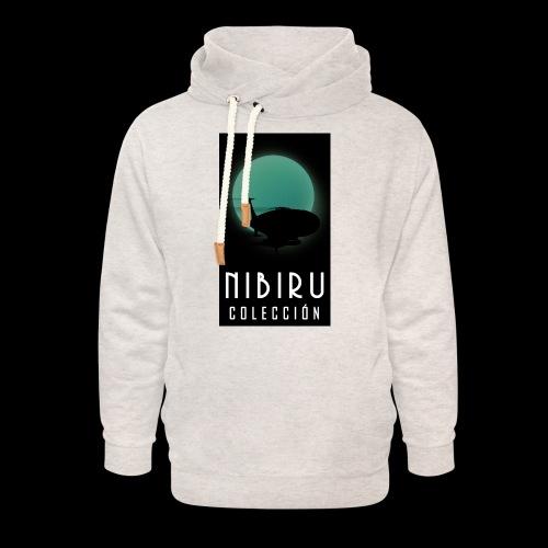 colección Nibiru - Sudadera con capucha y cuello alto unisex