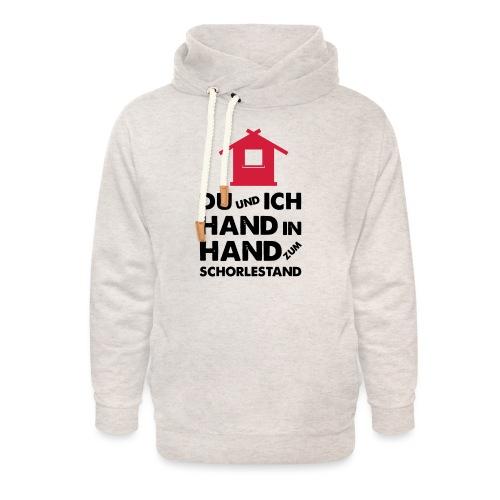 Hand in Hand zum Schorlestand / Gruppenshirt - Unisex Schalkragen Hoodie