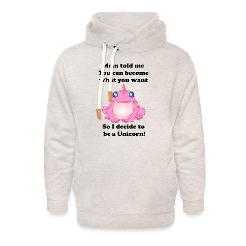 frogunicorn - Sweat à capuche cache-cou unisexe