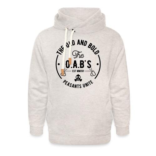 OAB unite black - Unisex Shawl Collar Hoodie