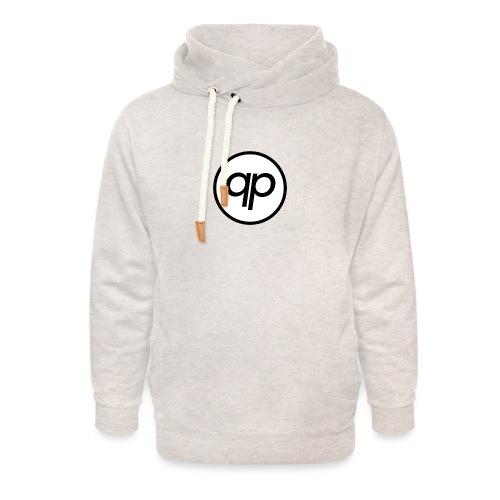 Logo EQP Noir - Sweat à capuche cache-cou unisexe