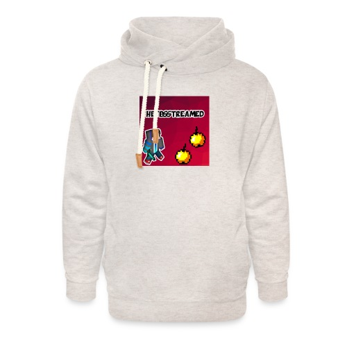 Logo kleding - Unisex sjaalkraag hoodie