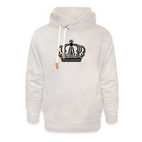 kroon keep calm - Unisex sjaalkraag hoodie