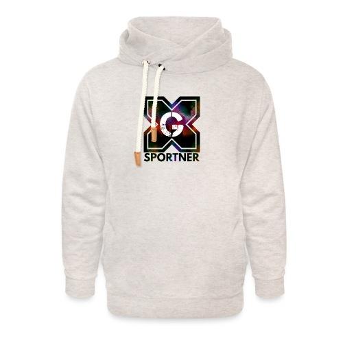 Logo édition limitée prénium GX SPORTNER - Sweat à capuche cache-cou unisexe