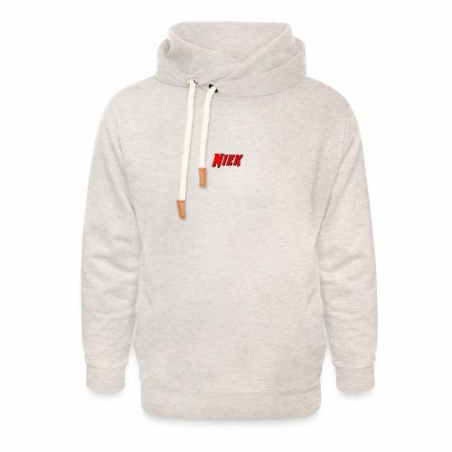 Niek Red - Unisex sjaalkraag hoodie