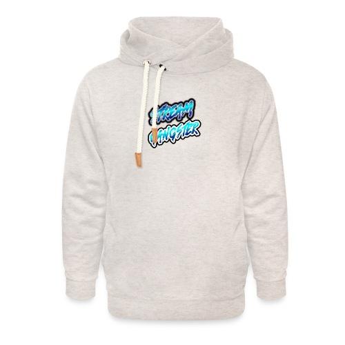 StreamGangsterMerchandise - Unisex sjaalkraag hoodie