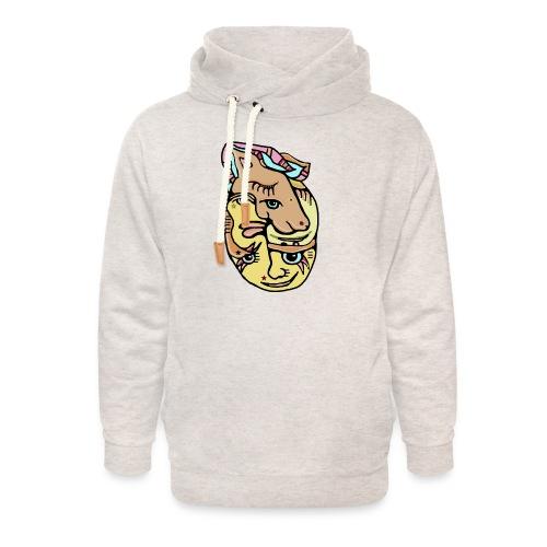 Unicake - Unisex hoodie med sjalskrave