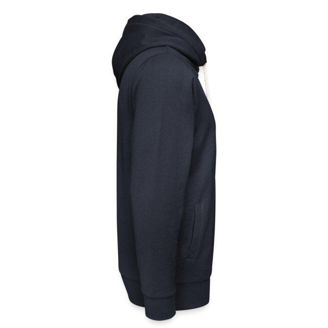 Vorschau: ohne mich läuft nichts - Unisex Schalkragen Hoodie