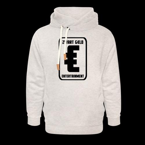 ZwartGeld Logo Sweater - Unisex sjaalkraag hoodie