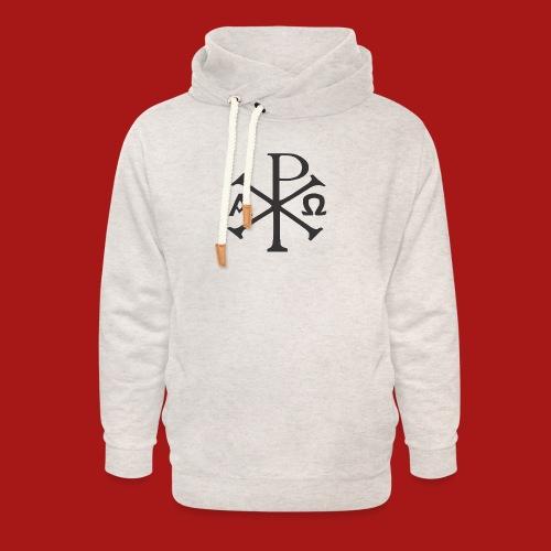 Kompasset-AP - Unisex hoodie med sjalskrave