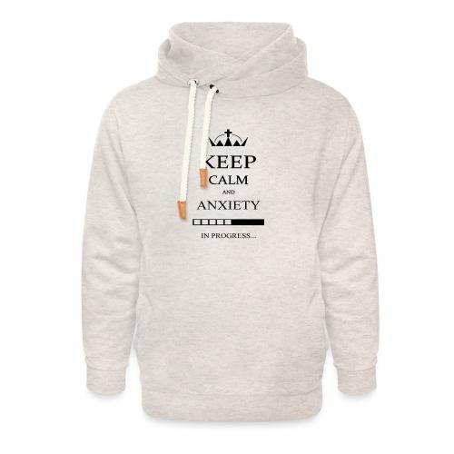 keep_calm - Felpa con colletto alto unisex