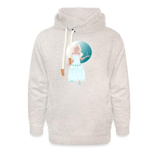 Frozen Princess - Sweat à capuche cache-cou unisexe
