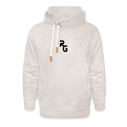 SPULLEN - Unisex sjaalkraag hoodie