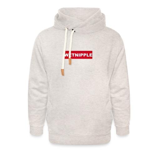 WETNIPPLE - Unisex sjaalkraag hoodie