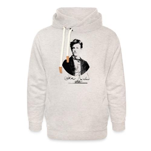 Rimbaud+signature.png - Sweat à capuche cache-cou unisexe