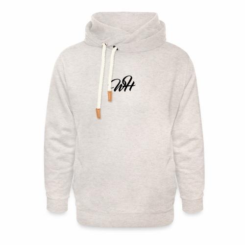 Basic logo - Unisex hoodie med sjalskrave