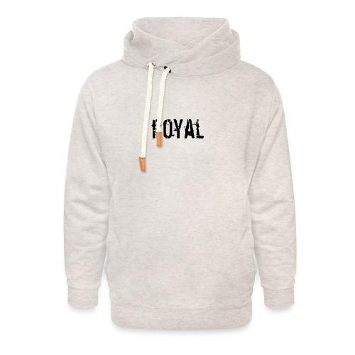 RoyalClothes - Unisex sjaalkraag hoodie