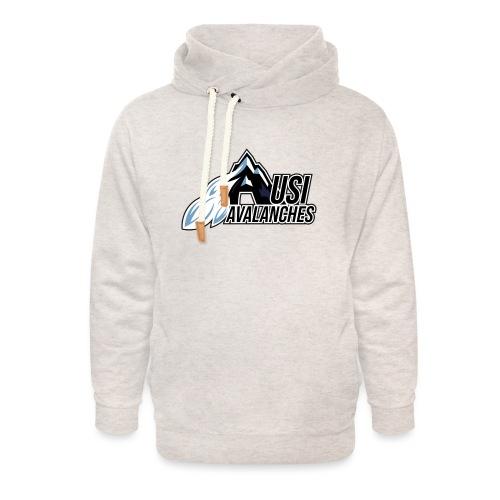 USI Avalanches white - Unisex Schalkragen Hoodie