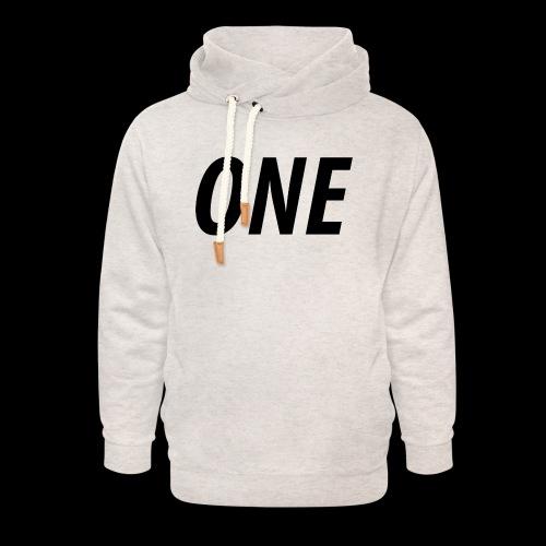 WEAREONE x LETTERS - Unisex sjaalkraag hoodie