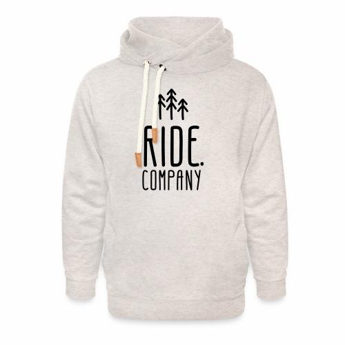 RIDE.company Logo - Unisex Schalkragen Hoodie