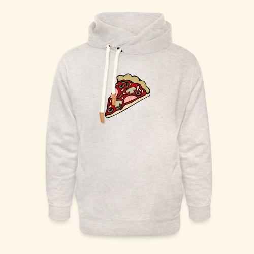 Pizza - Sweat à capuche cache-cou unisexe