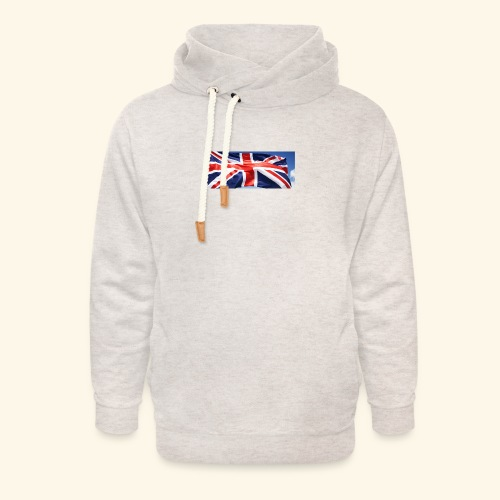 UK flag - Unisex Shawl Collar Hoodie