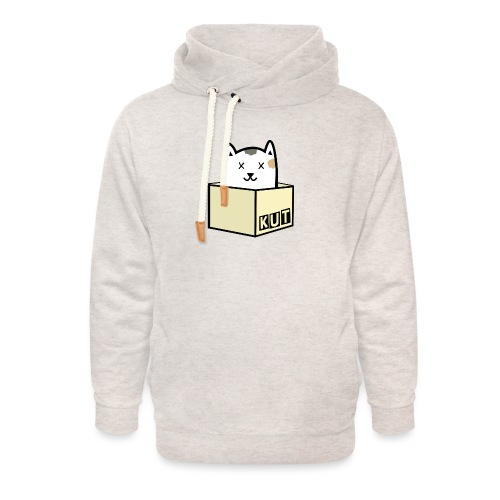 Kitten Los Default Colours - Unisex sjaalkraag hoodie