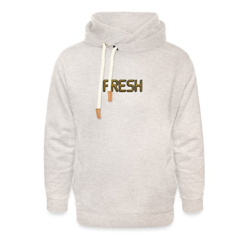 Limited Edition Fresh (Gold) Design - Unisex Shawl Collar Hoodie